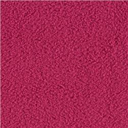 WinterFleece Velour Hot Pink Fabric