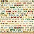 Glory Love God Text Cream