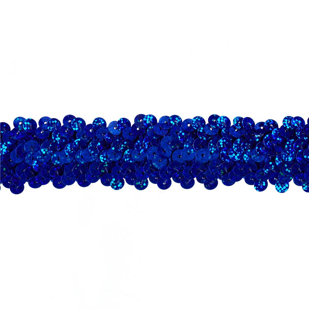 Team Spirit 3/4'' #30 Sequin Trim Blue