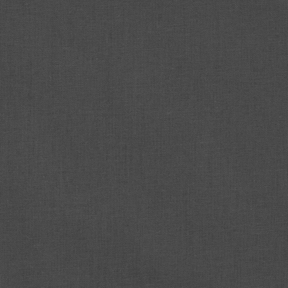 American Made Brand Solid Dark Grey Fabric by Clothworks in USA