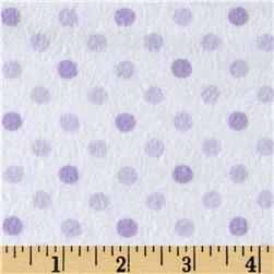 Flannel Dot Party Lavender
