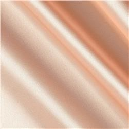 Silky Satin Charmeuse Solid New Peach