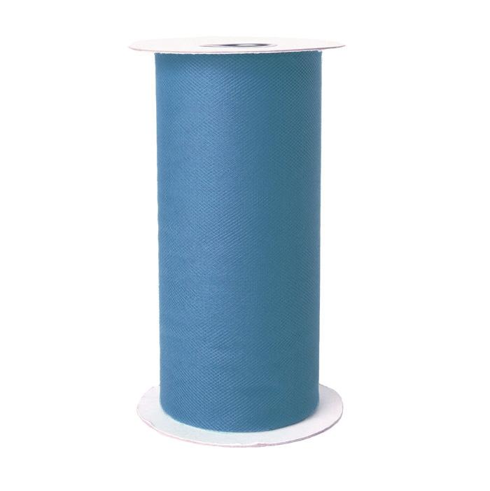Tulle Spool French Blue