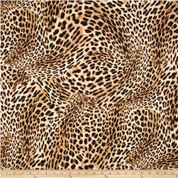 Wild Skins Leopard Brown