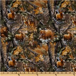 Realtree Animals Allover Multi Fabric