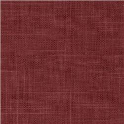 Robert Allen Linen Blend Slub Pomegranate