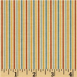 Riley Blake Rocket Age Stripes Cream