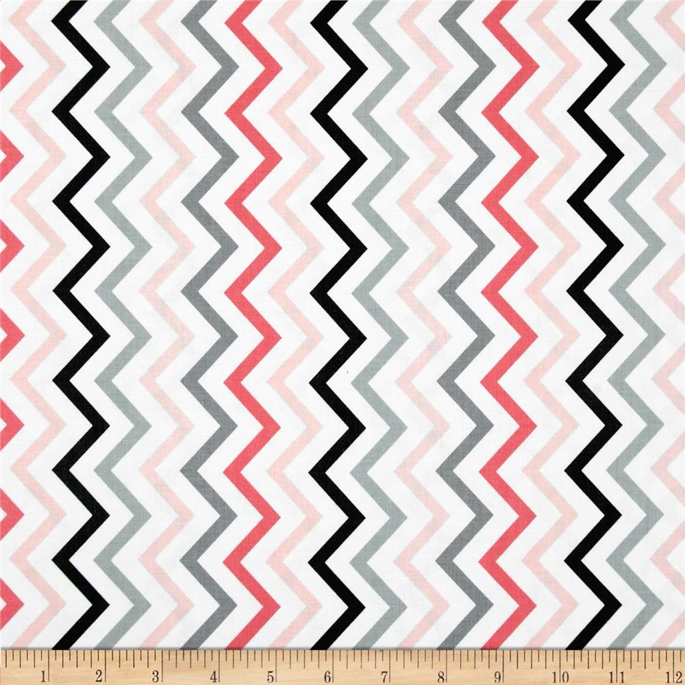 Michael Miller Mini Chic Chevron Girl