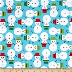 Robert Kaufman Jingle Snowmen Winter