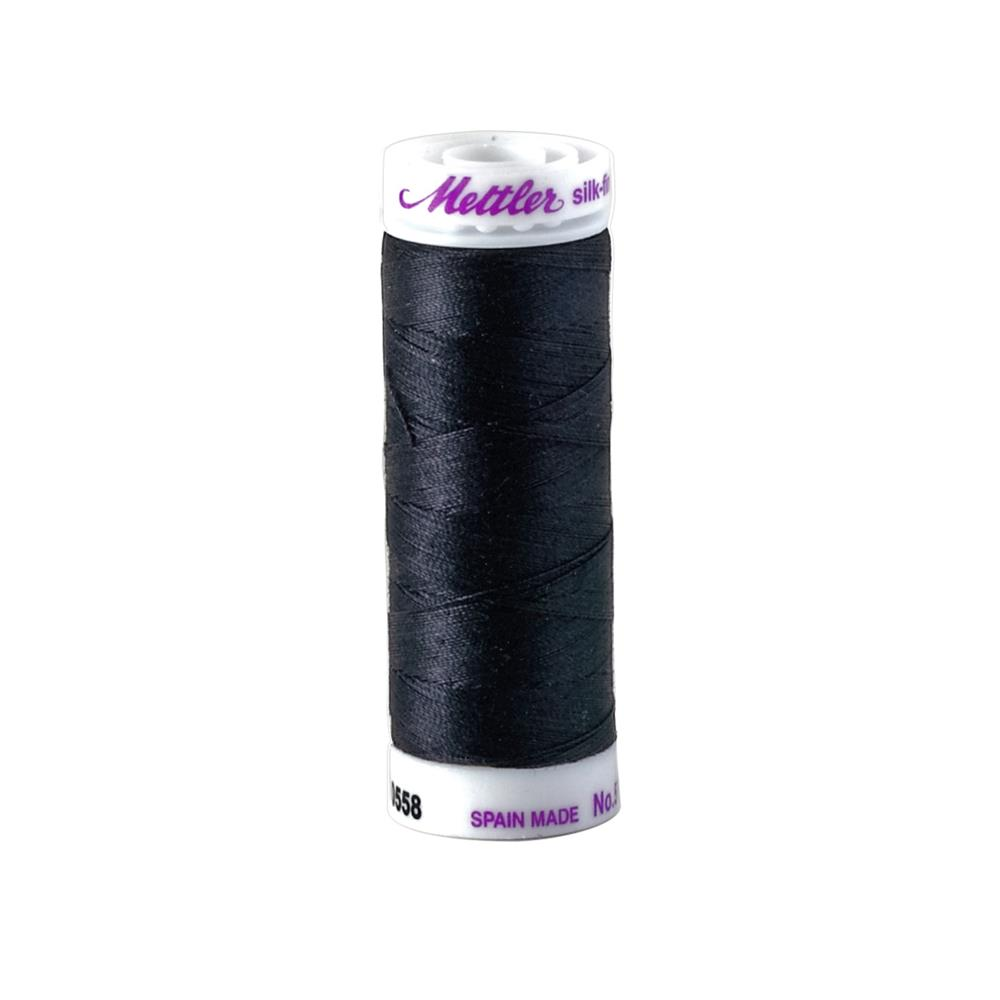 Mettler Cotton All Purpose Thread Darkest Blue
