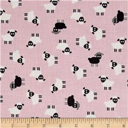 Kaufman Urban Zoology Minis Sheep Pink