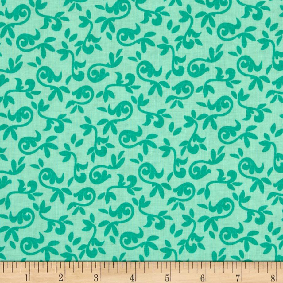 Riley Blake Halle Rose Small Floral Teal