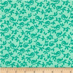 Riley Blake Halle Rose Small Floral Teal Fabric