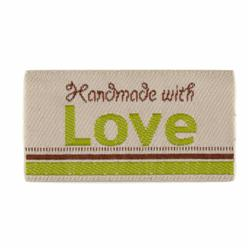 LaMode Lovelabels Handmade With Love-Natural