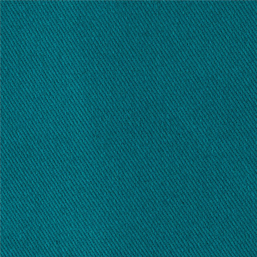 10 oz. Bull Denim Atlantis Teal - Discount Designer Fabric ...