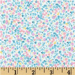 Penny Rose 30's Minis Floral Blue Fabric