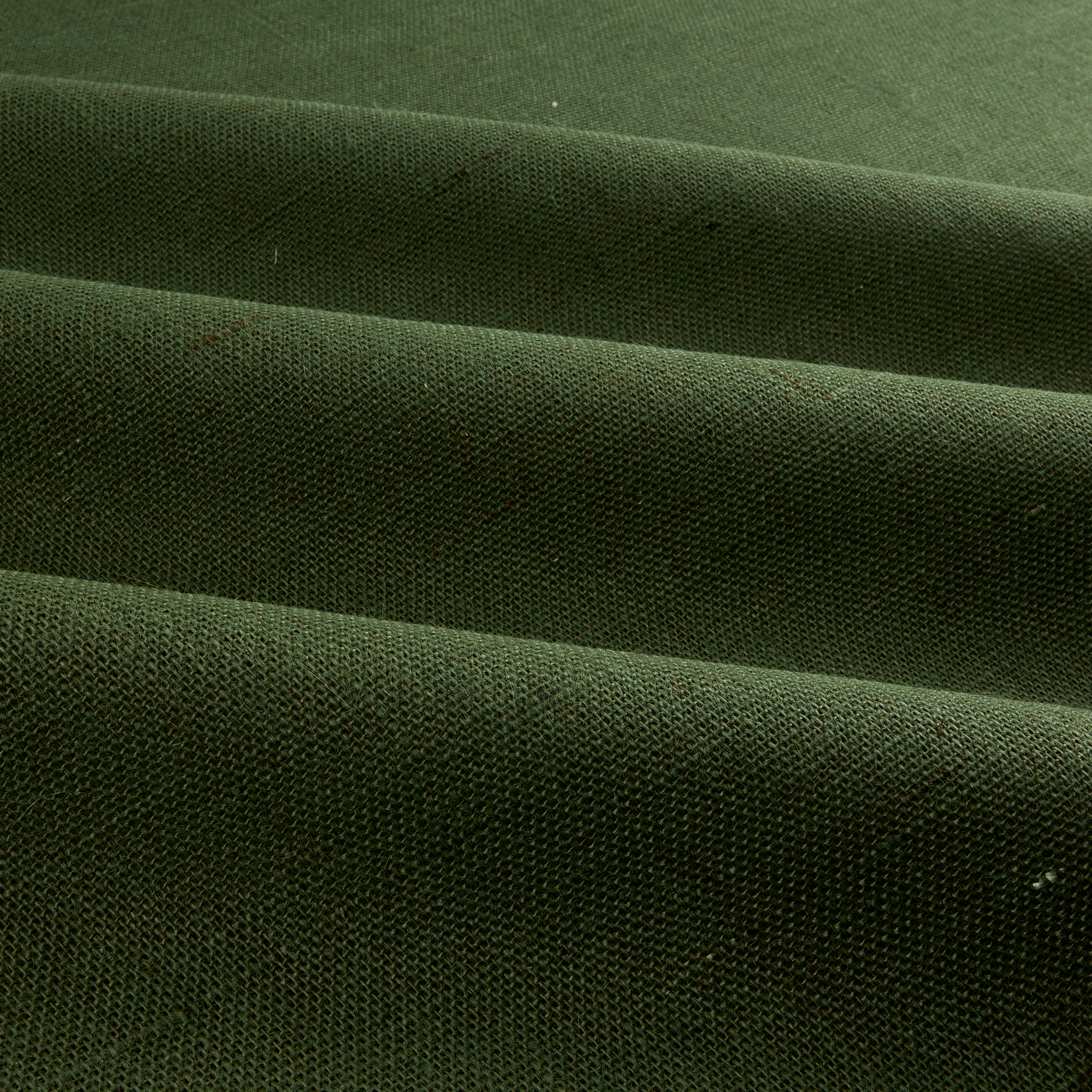 60'' Sultana Burlap Hunter Green Fabric
