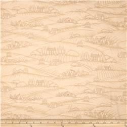 Vineyard Haven Vineyard Scenic Toile Tan