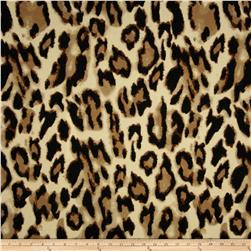 Ponte Roma Knit Leopard Cream/Black/Brown