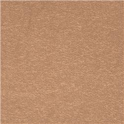 Stretch Rayon French Terry Knit Tan Fabric