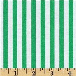 Jennifer Paganelli Beauty Queen Katie Stripe Green Fabric
