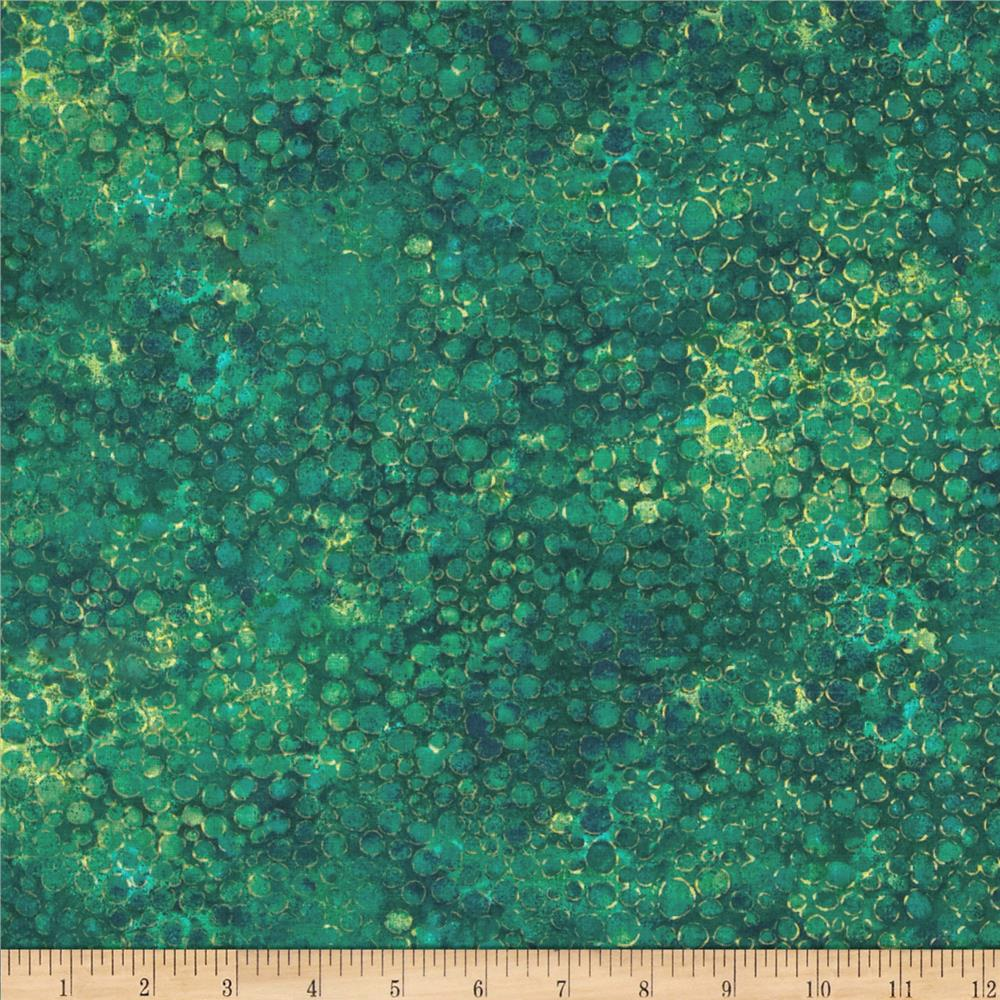 Artisan spirit shimmer 108 wide quilt backing teal for Green fabric