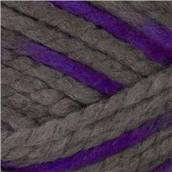 Lion Brand Wool Ease Thick & Quick Prints Yarn Purple Martin