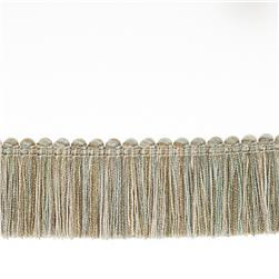 "Fabricut 1.5"" Escargot Brush Fringe Opal"