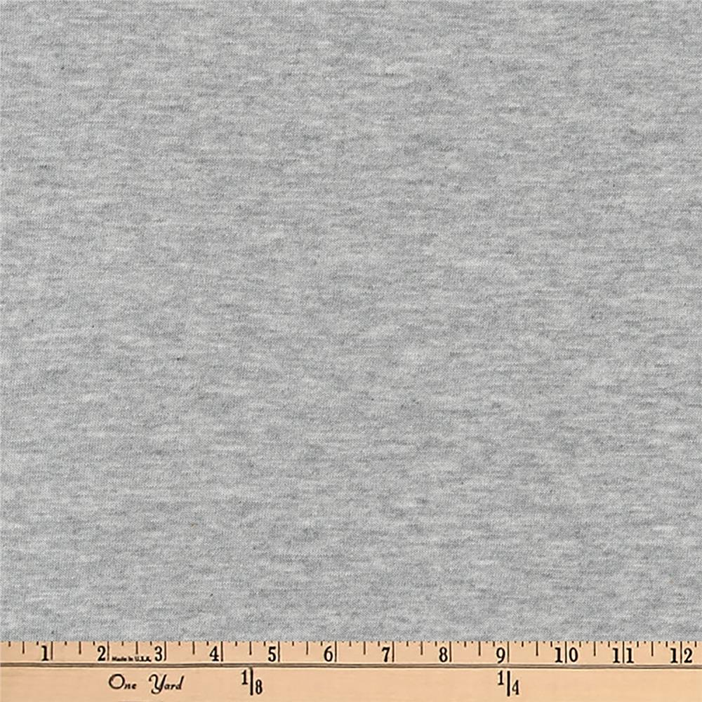 Kaufman Dana Jersey Knit Heather 4.8 oz Heather Grey Fabric