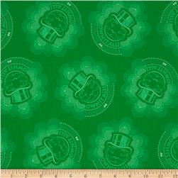 Mr. Monopoly Green Fabric