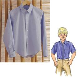 Kwik Sew Boy's Button Up Shirts Pattern