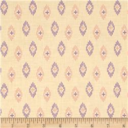 Kaleidoscope Ikat Cream
