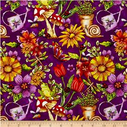 Garden Glory Garden Allover Purple