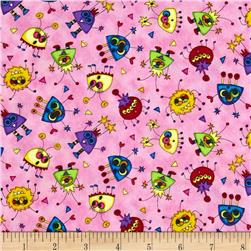 Quilting treasures monster mash discount designer fabric for Monster themed fabric
