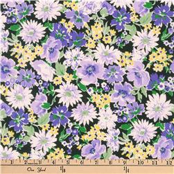 Kaufman Flora Flower Spray Purple
