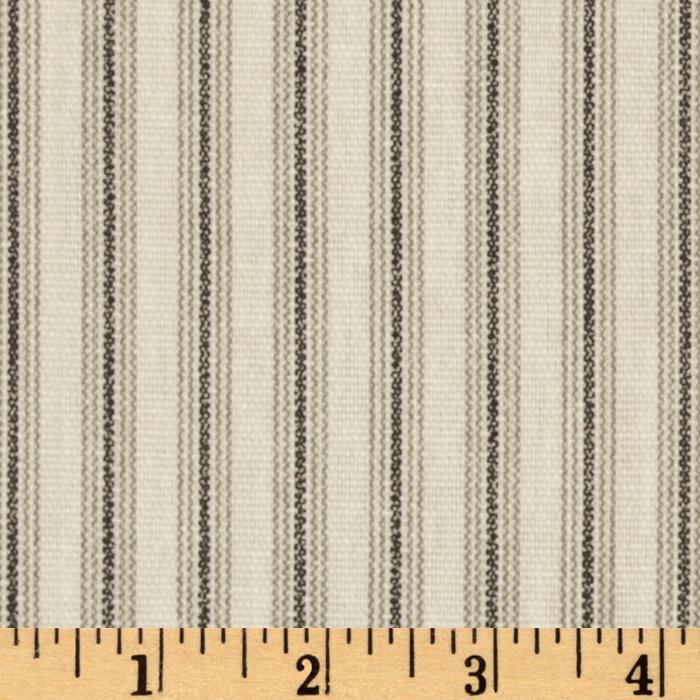 Ticking Stripe Black/Natural