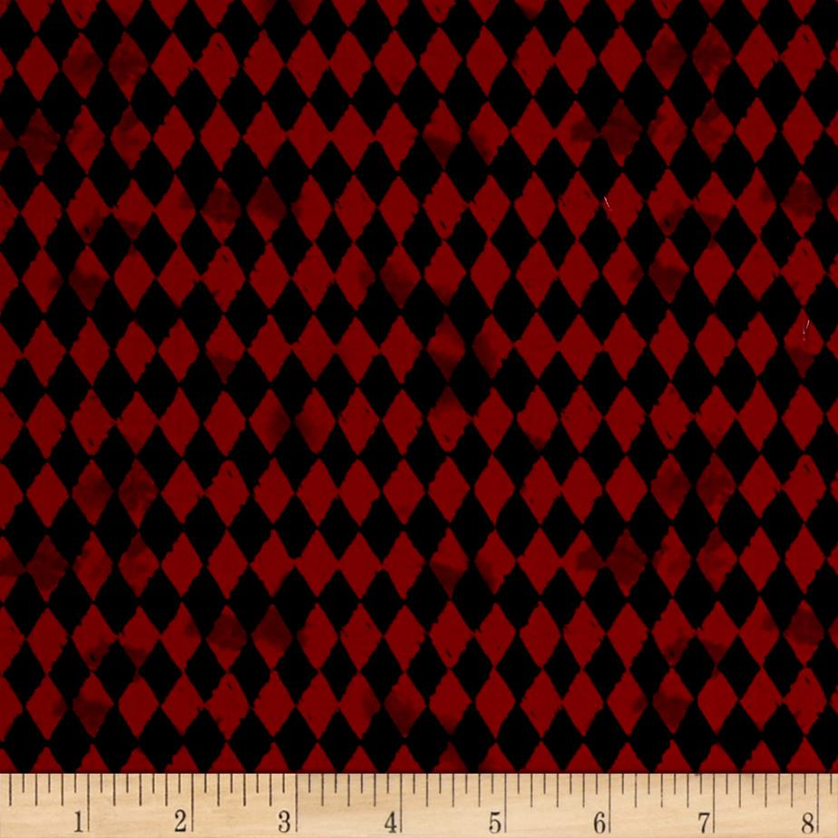 Pub Crawl Geometric Dark Red