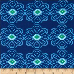 Ty Pennington Home Decor Sateen Spring 12 Colsn Navy
