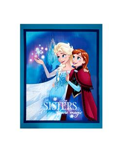 Disney Frozen Sisters Are Magic Panel Blue