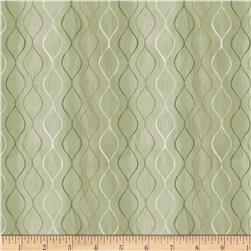 Neutral Nature Geo Waves Green