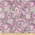 Michael Miller It's a Girl Thing Mod Swirls Orchid