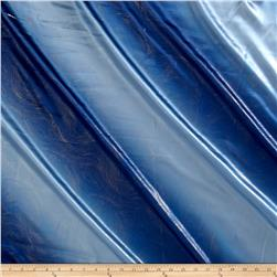 Charmeuse Satin Metallic 2-Tone Blue