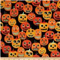 Alexander Henry Haunted House Jack O' Lantern Jr Black