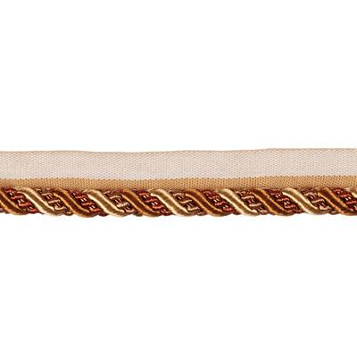 "Fabricut 5"" Repose Cord Trim Copper"