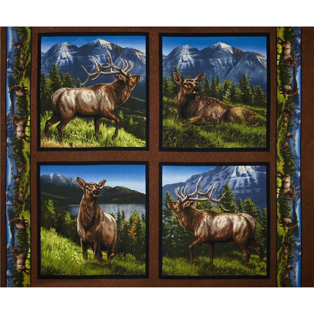 Wild Wings Elkmont Ridge Pillow Panel-36