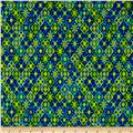 Kanvas Viva Brazil Sunsetter Blue/Green