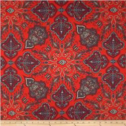 Liberty of London Tana Lawn Lady Paisley Orange