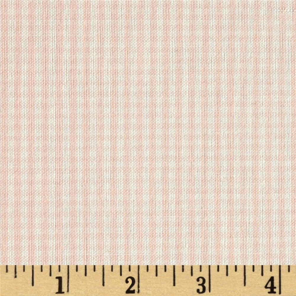 Flannel Gingham Check Peach