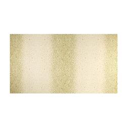 Kaufman Winter's Grandeur 4 Metallics Double Border Dots Natural