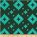 Cotton & Steel Mesa Tile Green